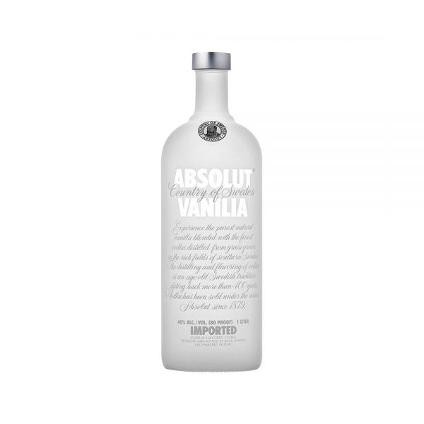 VODKA ABSOLUT VAINILLA